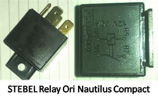 new cara memasang relay klakson motor