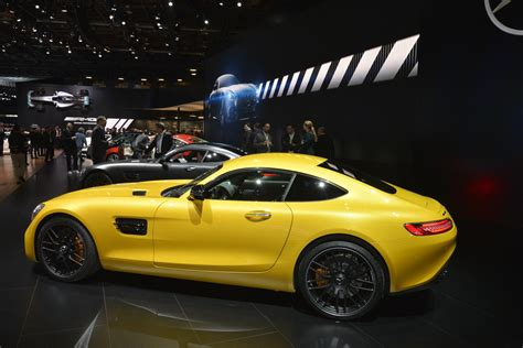 facelifted 2018 mercedes amg gt comes to detroit to a