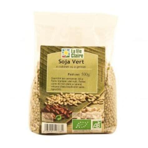 cuisiner bio soja vert à germer et cuisiner bio la vie