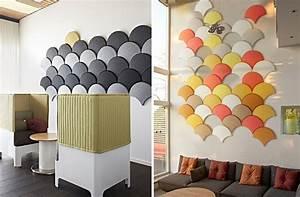 Schöne Bilder Für Die Wand : sch ne und originelle schalld mmende platten f r die wand ~ Markanthonyermac.com Haus und Dekorationen
