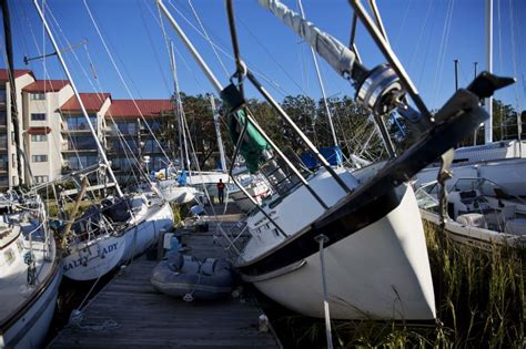 Hurricane Salvage Boats Florida by Deadly Hurricane Matthew In Pictures Propertycasualty360