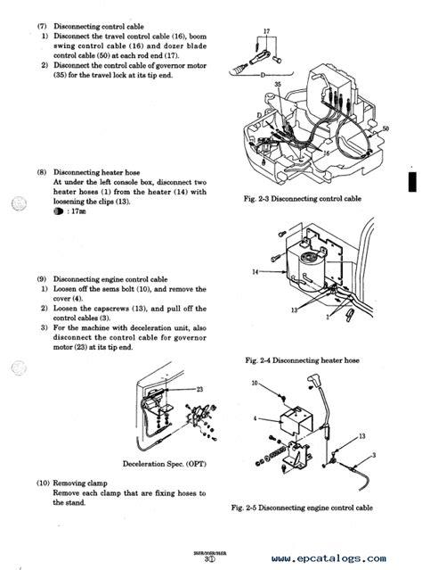 kobelco sksr sksr  sksr hydraulic excavators  shop manual