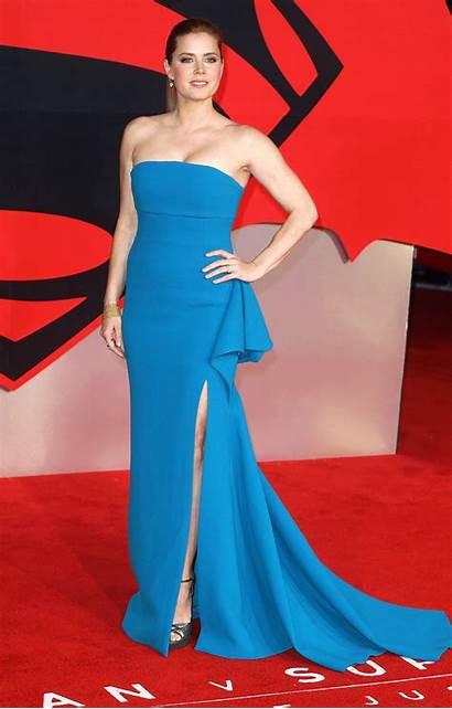Adams Amy Carpet Angle Superman Batman Dresses