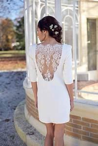 Robe Boheme Courte : mariage boheme chic robe courte ~ Melissatoandfro.com Idées de Décoration