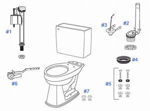 Toto Promenade Toilet Replacement Parts