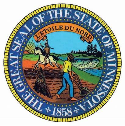 Mn Stateseal State Seal Minnesota Wikipedia Flag