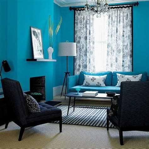 teal living room decor interior