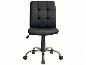 Fauteuil Bureau Conforama : chaise dactylo elena coloris noir vente de fauteuil de bureau conforama ~ Teatrodelosmanantiales.com Idées de Décoration