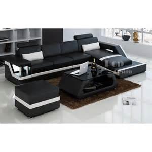 canape d angle noir et blanc photos canapé d 39 angle design noir et blanc