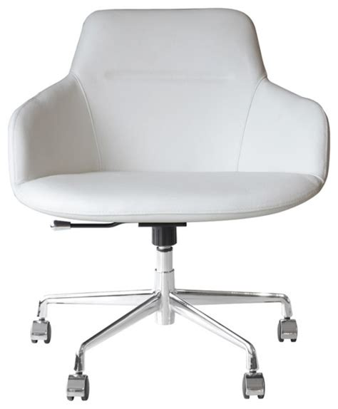 olaf office chair white contemporary office chairs