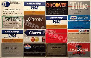 Maybe you would like to learn more about one of these? Vintage Credit Card Lot 1980s Diners Club Amex Visa JC Penney Mastercard Gas Etc   eBay (With ...