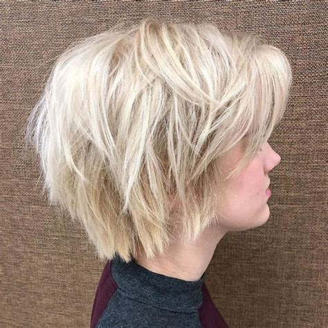 short shag haircuts  women october