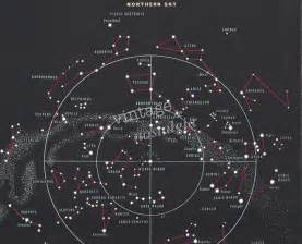 Astronomy Star Constellation Chart