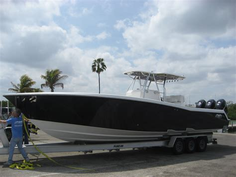 Invincible Boats by Invincible 36 2014 Verado 300 S Brand New With 6 Year