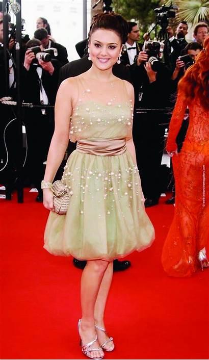 Zinta Preity Bikini Husband Navel Feet Cannes