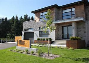 amenagement paysager moderne recherche google With modele escalier exterieur terrasse 6 photos amenagement cate jardin paysage