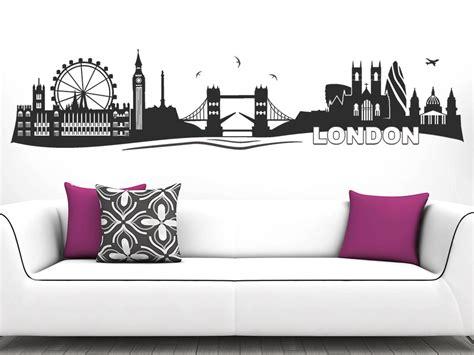 wandtattoo london skyline von wandtattoode
