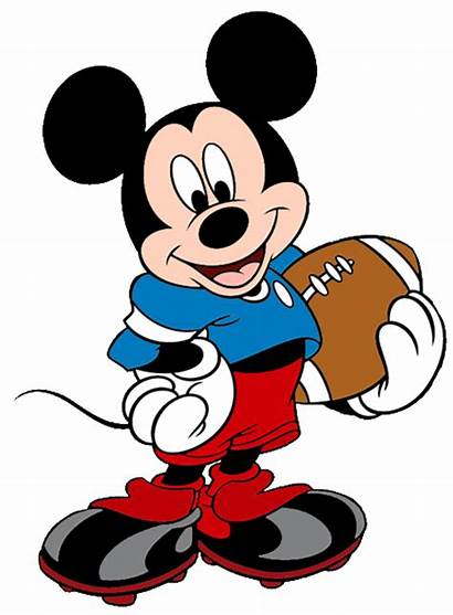 Mickey Mouse Disney Clip Football Clipart Lsu