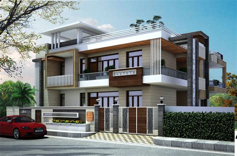 latest House Front Elevation Design By Gharbanavo.com