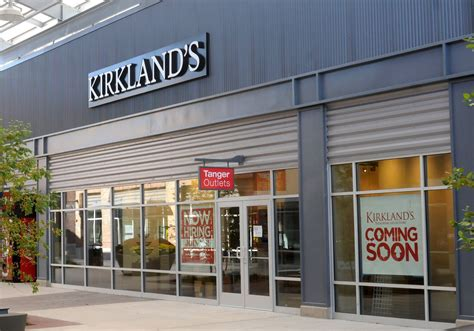 Kirkland's home decor store to open in Tanger Outlets ...