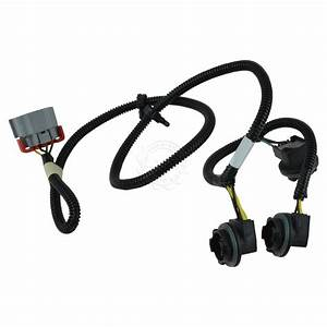 Oem Tail Light Lamp Wiring Harness Lh Driver Side For