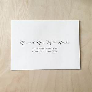 Wedding invitation envelope wording return address for Printing wedding invitation envelopes etiquette