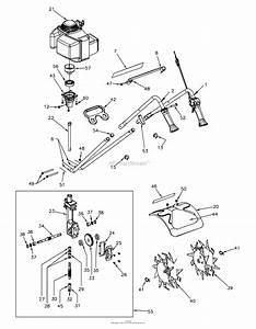 Honda Mantis Tiller Parts