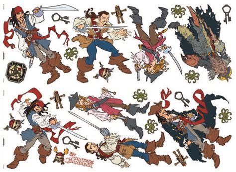 chambre pirate des caraibes des caraibes stickers divers personnages