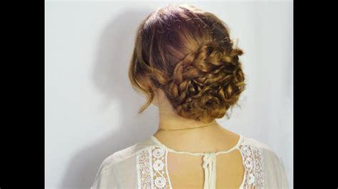 coiffure bohème mariage coiffure chignon boh 232 me