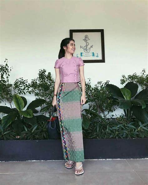 myanmar dress myanmar outfits myanmar traditional