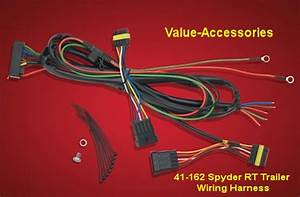 New Product  Trailer Wiring Harness  Spyder Rt