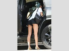 Nicole Richie in skimpy shorts as she takes children on