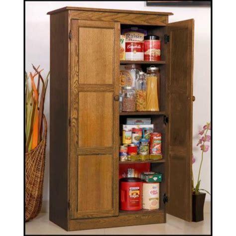 Hodedah Hi224 White 4 Door Pantry Cabinet   Pantry