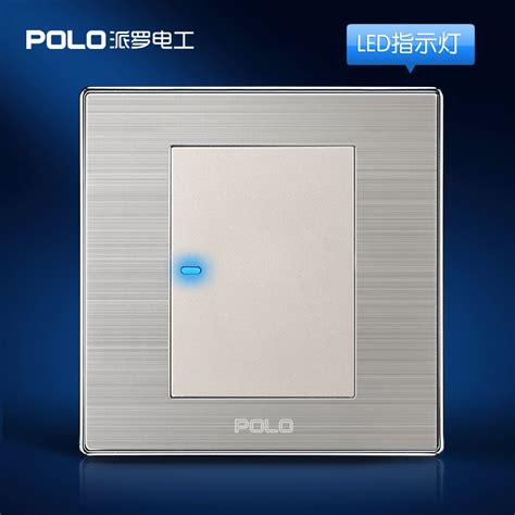 wholesale polo luxury wall switch panel light switch 1
