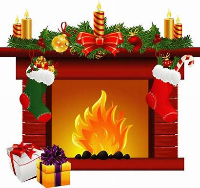 Fireplace Clipart Holiday Transparent Webstockreview Cliparts Zone
