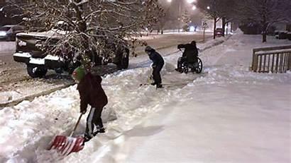 Snow Shovel Today Wheelchair Sons