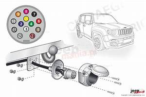 Electric Harnesses For Towing Hook  Dedicated  13