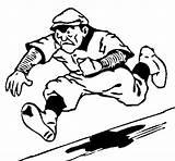 Baseball Diamond Coloring Coloringcrew sketch template