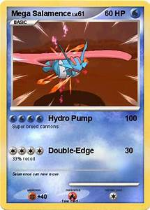 Pokémon Mega Salamence 15 15 - Hydro Pump - My Pokemon Card