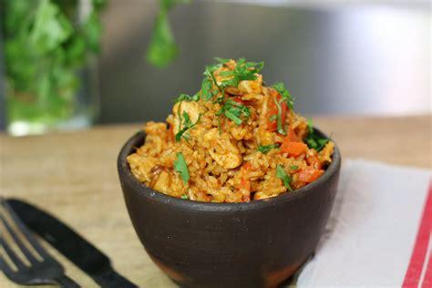 cuisine thon riz au poulet ou quot one pot chicken rice quot hervecuisine com