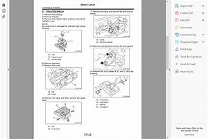 Official Workshop Service Repair Manual For Subaru Forester 2002