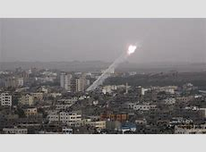 Gaza Returns Rockets For Israeli Airstrikes NCPR News