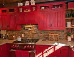 1000 ideas about red country kitchens on pinterest With best brand of paint for kitchen cabinets with outer space wall art