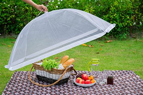 pack luxury large food cover tent  organza net