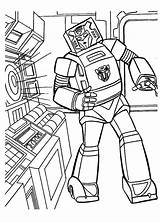 Coloring Bumblebee Transformers Pages Transformer Listening Robot Decepticons Music Colouring Print Sheets War Wars Coloringpagesonly Star sketch template
