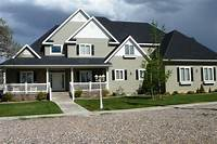 house color combinations Decorating: Beautiful Fancy Exterior Paint Combinations With Lovely Light And Deep Colors ...