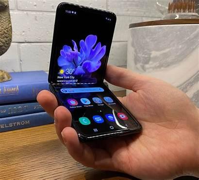 Flip Samsung Galaxy Foldable Smartphone Finance Yahoo