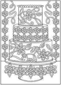 Creative Haven Coloring Book Designer Desserts