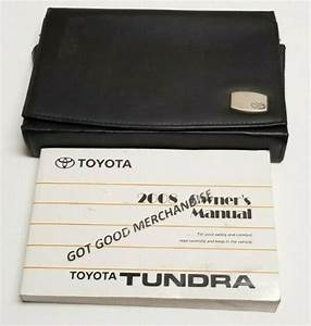 2008 Toyota Tundra Owners Manual Guide V8 5 7 4 7 V6 4 0