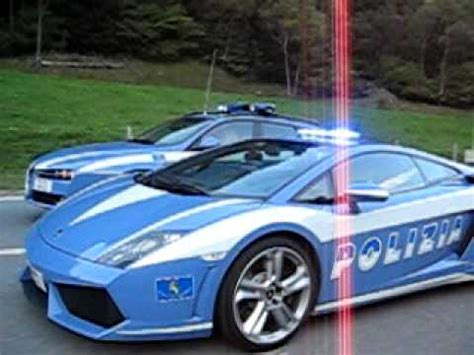 Lamborghini Gallardo & Alfa Romeo 159 Polizia Stradale in ...